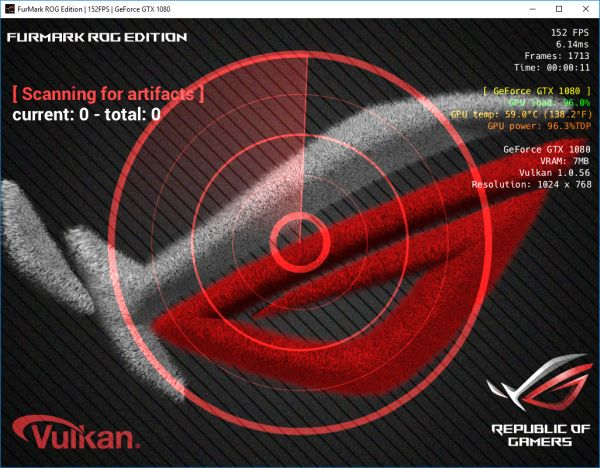 FurMark ASUS ROG Edition > Downloads