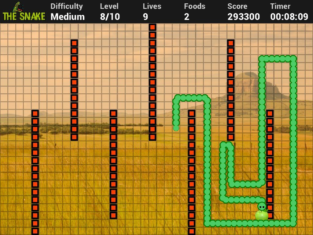 Snake game - Made With GeeXLab